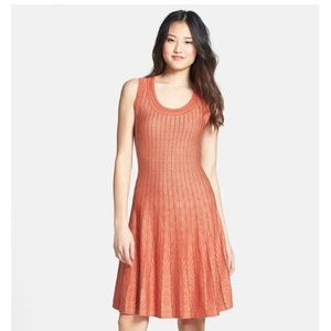 NIC + ZOE 'Sun Glow Twirl' Knit Dress